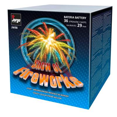 JW 98 Show of fireworks